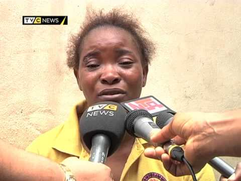 Nigeria police parade nanny who abducted the Orekoya boys