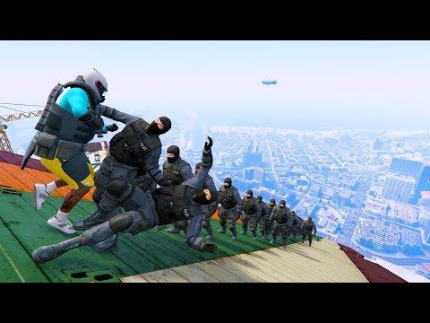 GTA 5 Crazy Jumper/Falls compilation #12 (GTA 5 Fails Funny Moments/Ragdolls)