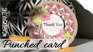 Punched card -  Tarjeta troquelada