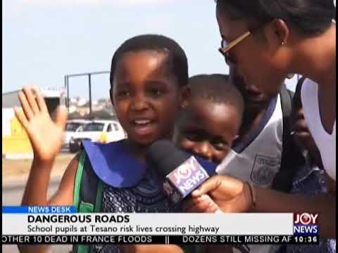 Dangerous Roads - News Desk on JoyNews (16-10-18)