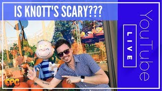 LIVE FROM KNOTTS SCARY FARM 2017