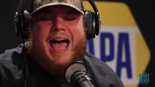 "Luke Combs   ""When It Rains It Pours"" Live On The Bobby Bones Show"