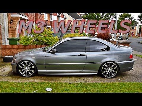 E92 M3 Wheels on BMW E46 Coupe