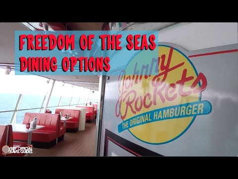 Dining on a Cruise Ship: What's Included? Royal Caribbean Freedom of the Seas