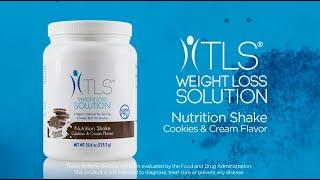 TLS® Nutrition Shakes - Cookies & Cream