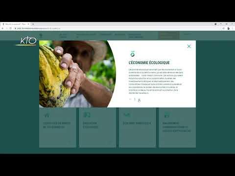 Le site web de la plate-forme d'initiative Laudato Si'
