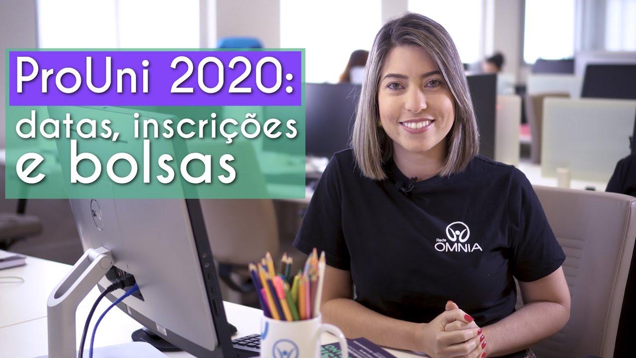ProUni 2020: datas, inscrições e bolsas