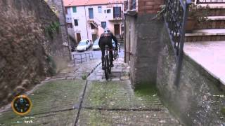 preview picture of video 'Mountain bike  Roccastrada paese'