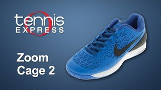 Nike Zoom Cage 2 Eu Men's Tennis Shoes video