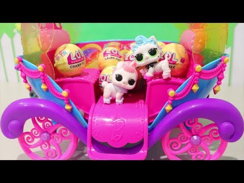 LOL Pets Wave 1 FULL SET and LOL Surprise Dolls Series 3 Fizz Balls With Surprise Toys