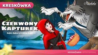 Czerwony Kapturek (Nowy) bajki dla dzieci po Polsku | Bajka i kreskówka na Dobranoc