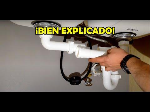 El mejor video de instalación de drenajes de lavaplatos que he hecho