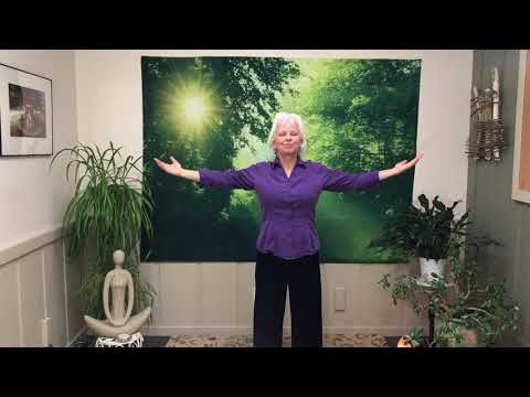 Showering Qi - A simple, yet powerful qigong exercise to relax your body, calm your mind, and let your spirit soar.
