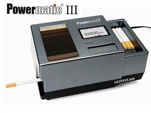 Powermatic 3 die neue elektrische Stopfmaschine