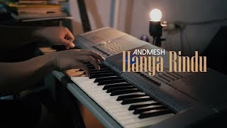 Peaceful Piano + Lyrics   HANYA RINDU   Andmesh