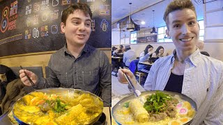 Trying Mind-Blowing MILK Hot Pot   One of Its Kind in NYC