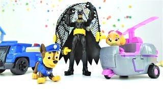 Детские игрушки! Игрушки ЩЕНЯЧИЙ ПАТРУЛЬ. Видео для мальчиков И НЕ ТОЛЬКО! Про Бэтмена и его плащ!