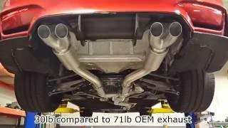 AC Fabrication S55 M3/M4 Aluminum Catback Exhaust