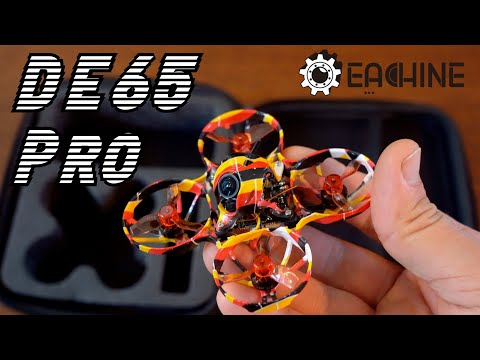 Eachine DE65/US65 Pro: 65mm tiny whoop with GNB27 1s lipo batteries