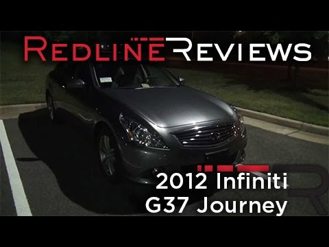 2012 Infiniti G37 Journey Review, Walkaround, Exhaust, Night Drive