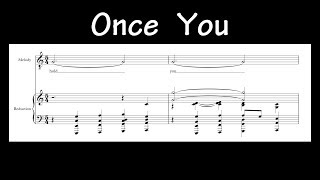 Jacob Collier - Once You [Transcripción]