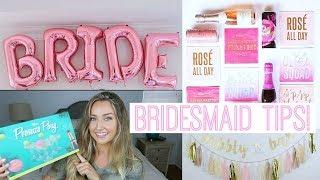 BRIDESMAID TIPS + ADVICE! | Lauren LeBouef