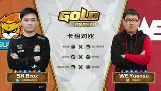CN Gold Series - Week 7 Day 2 - Brox vs Yuansu