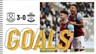 West Ham 3-0 Southampton Pekan 38