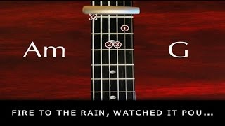 Learn how to Play - Set Fire To The Rain -  Adele - with chords and lyrics