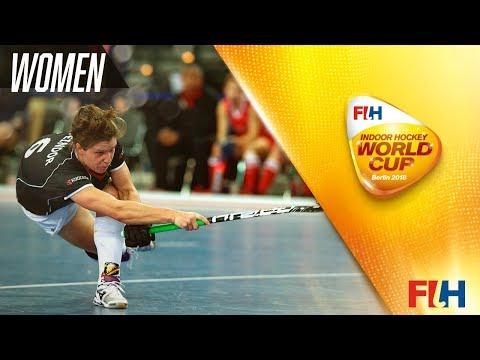 Netherlands v Germany - Indoor Hockey World Cup - Women's Final