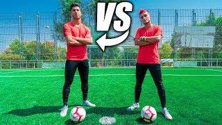 MARCO ASENSIO VS DELANTERO09 - Retos De Fútbol