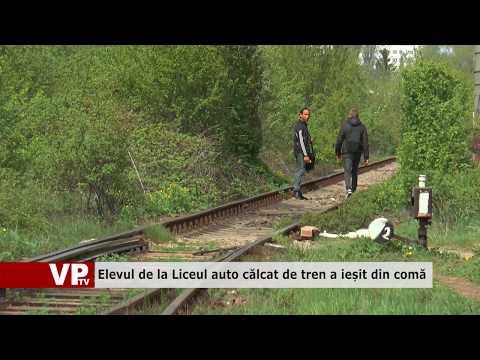 Elevul de la Liceul auto călcat de tren a ieșit din comă