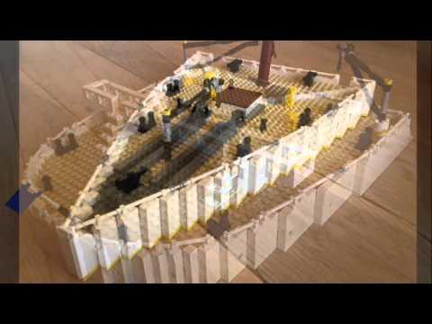Un Artista Talentoso Puede Reconstruir El Titanic Con Piezas Lego