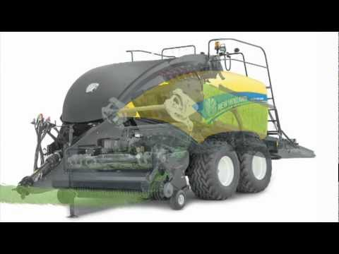 The new BigBaler cropflow animation