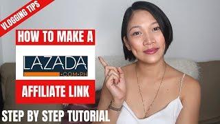 PAANO KUMITA SA LAZADA PH How to create your affiliate link 2019