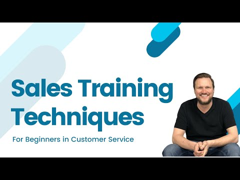 Sales Training Techniques for Beginners in Customer Service ...