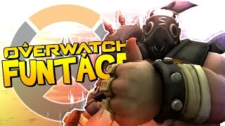 OVERWATCH FUNTAGE! - More Roadhog, Rank 69 & KA-PENG!