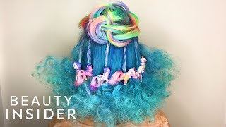 Stylist Creates Carnival-Inspired Hairstyles