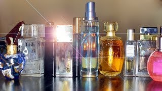 PERFUME COLLECTION   My Favorite Fragrances