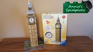 """Spielwarentest 3D Puzzle """"Big Ben"""" von Ravensburger"""
