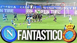 NAPOLI 2-0 ESPANYOL | FANTASTICO! LIVE REACTION GOL CURVA B HD