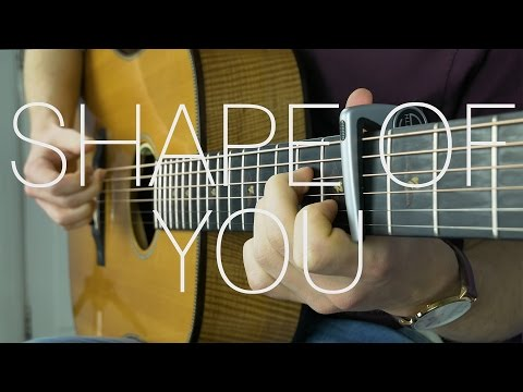 Ed Sheeran - Shape Of You - Fingerstyle Guitar Cover By James Bartholomew