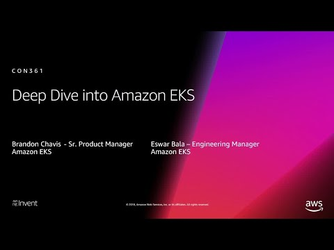 Deep Dive Amazon EKS video