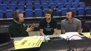 CSU Basketball (M) Post-Game: 2018-19 San Jose State (Thistlewood)