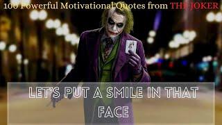 100 Best Powerful Motivational Quotes (Villain Attitude Quotes) | Joker quotes | English Subtitles