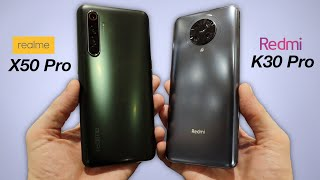 Xiaomi Redmi K30 Pro vs Realme X50 Pro 5G - HANDS ON COMPARISON