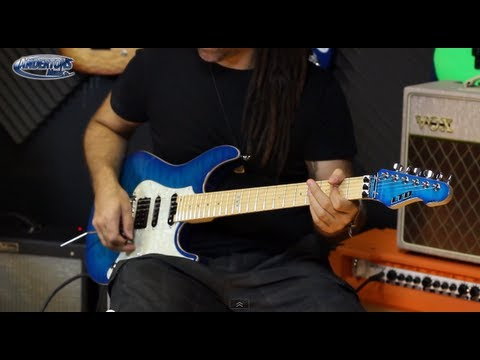 ESP LTD Elite Guitar Demo - New Japanese Made LTD Guitar