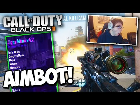 I HAD AIMBOT AND I DIDN'T KNOW IT... (I THOUGHT I HIT!) - BO2 Trickshotting