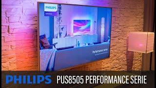PHILIPS PUS8505 4K AMBILIGHT TV -  PERFORMANCE SERIES 2020 (THE ONE)
