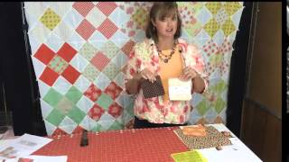 Best Quilt For Beginners - Uses One Charm Pack And  One Layer Cake